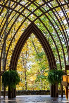 Mildred B. Cooper Memorial Chapel by Kirt Wilson on Capture Arkansas // Such a beautiful chapel anytime of the year. You can feel the presence of God if you sit and be still. My wife loves to come here to sing praises. It's a warm and beautiful place. World M, Bamboo Garden, Wedding Honeymoons, Amazing Architecture, Stained Glass, Beautiful Places, Places To Visit, Tower, Backyard
