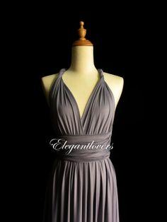 Coral Color Dress Wedding Dress Bridesmaid Dress by Elegantlovers