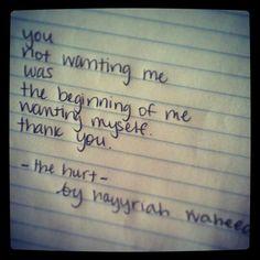 The Hurt poem.  Beautiful.