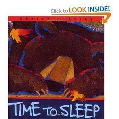 Amazon.com: Time to Sleep (An Owlet Book) (9780805067675): Denise Fleming: Books