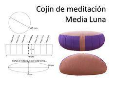 Cojines y banco de meditación: medidas | Yoga Prema Vitoria-Gasteiz