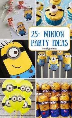 25+ minion party ideas - NoBiggie.net #minion