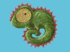 Wzór Kameleona, zobacz koniecznie jak wygląda na naszej koszulce :) Chameleon, see how it looks on a shirt :)