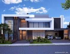 Architecture Discover Image may contain: house cloud sky and outdoor Modern House Facades Modern Architecture House Architecture Design Morden House Modern Villa Design Small Modern Home Modern Homes House Front Design Modern Mansion Modern Villa Design, Modern Exterior House Designs, Dream House Exterior, Modern House Facades, Modern Architecture House, Modern House Plans, Architecture Design, Morden House, House Front Design