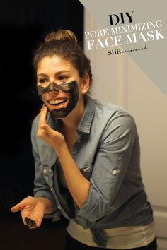 DIY Pore Minimizing Face Mask