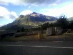 Vista del volcán Imbabura