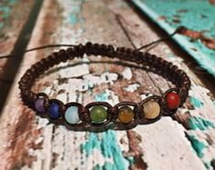 Chakra Healing Bracelet / Healing Crystal Bracelet by AnandaEnergy