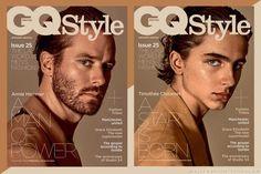 Los actores Armie Hammer y Timothée Chalamet son los encargados de mostrarnos las mejores tendencias del otoño en la edición de GQ UK Style