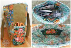 crafty traveler tote travel handmade by ellison lane