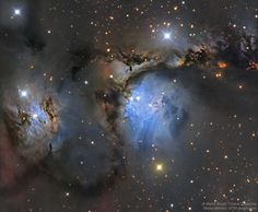 APOD: M78 and Orion Dust Reflections (1/24/17)