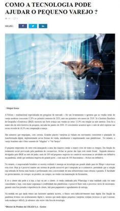 Revista Varejo Brasil - COMO A TECNOLOGIA PODE AJUDAR O PEQUENO VAREJO ?
