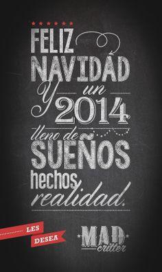 Feliz Navidad y un 2014 muy rockero!!!