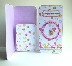 - Simple and quick to make-blank sentiment included for your own message. Money Cards, Diy Cards, Money Holders, Scottie Dogs, Hoppy Easter, Printable Designs, Card Ideas, Wallets, Card Making