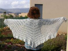 Eva`s shawl Crochet Shawl, Homemade, Crafty, Blanket, Ponchos, Home Made, Hand Made, Rug, Blankets