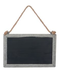 Loving this Rectangle Chalkboard Sign on #zulily! #zulilyfinds