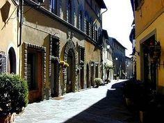 Main street Castellina