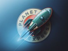 Planet Express Logo Update by Michael Fugoso