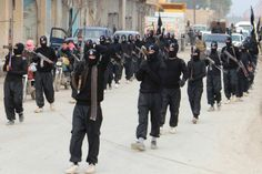 Islamic State militants - REUTERS/ Yaser Al-Khodor...It wont be long now, and they will soon be history...