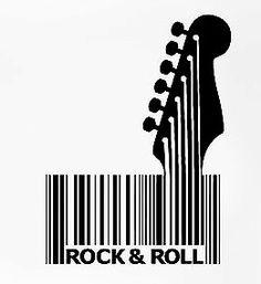 R & R Barcode Art, Barcode Design, Graphic Design, Star Wars Painting, Guitar Art, Design Graphique, Creative Advertising, Typography Logo, Creative Art