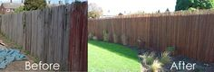 Cover neighbor's ugly fence with willow screening for an instant makeover