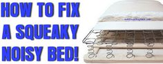 How To Stop A Squeaky Box Spring Mattress!