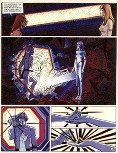 Moebius Jean Giraud, Bd Comics, French Artists, Figure Drawing, Cyberpunk, Science Fiction, Illustrators, Sci Fi, Illustration Art