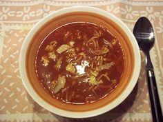 Dora's Chinese tomatensoep. Weer een simpel en goed gerecht van Dora Besparen met de authentieke smaak van deze Oosterse soep. Chili, Soup, Chile, Soups, Chilis