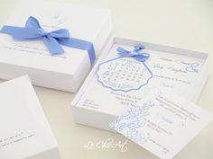 wedding box tema mare con conchiglia save the date