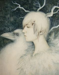 White Crow by ~Kaelycea on deviantART