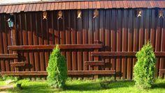 Как украсить забор из профнастила? - Дом и стройка - Статьи - FORUMHOUSE