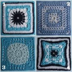 More crochet block goodness