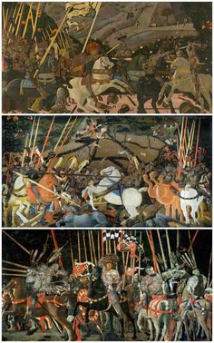 Laetitiana: Paolo Uccello - The Battle of San Romano c.1450