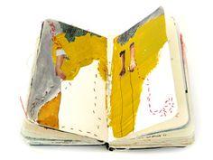 superbe articles sur les acrnets de voyage d'artistes - travel sketchbooks by artists on the etsy blog