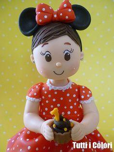 Topinho Minnie! by Tutti I Colori! Contato: debcorreia81@yahoo.com.br, via Flickr
