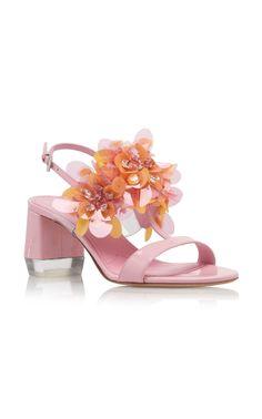 Floral Sandals by Prada Spring Summer 2019   Moda Operandi Zapatillas,  Primavera Prada, 780703991f