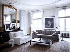 こんなお部屋に憧れる。パリ・アパルトマンのインテリア実例集。
