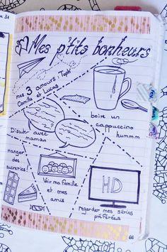 ^ Pour ne rien rater, pensez à vous abonner ! ID de suivi UA-100878289-1 Organization Bullet Journal, School Organization, Bullet Journal Décoration, Junk Journal, Diy Agenda, Bujo, Doodle Lettering, Bullet Journal Inspiration, Journal Ideas