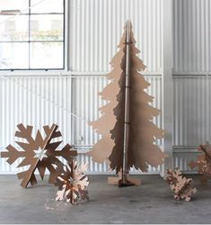Tall Recycled Cardboard Christmas Tree – 37 super easy diy christmas crafts ideas for kidslaser cut ornament wooden christmas tree ideawhat do your christmas decorations say about you Recycled Christmas Decorations, Recycled Christmas Tree, Cardboard Christmas Tree, Homemade Christmas Tree, Christmas Tree Decorations, Christmas Origami, Office Christmas, Noel Christmas, Modern Christmas