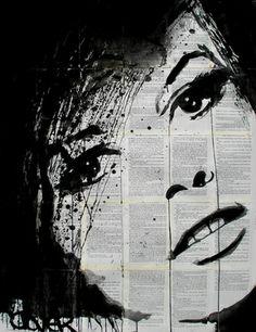 "Saatchi Art Artist Loui Jover; Drawing, ""girl"" #art"