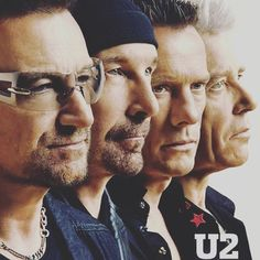 """Everyone is here with me tonight, every one but you...""- Crystal Ballroom  #U2 #Bono #TheEdge #AdamClayton #LarryMullenJr #U2ieTour"