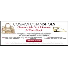 COSMOPOLITAN SHOES CLEARANCE SALE - CHECK PHOTO FOR ALL DETAILS‼️  ONE WEEK ONLY‼️  HURRY WHILE STOCKS LAST‼️