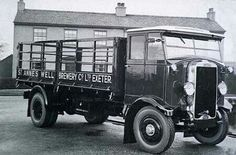 St Anns Well Brewery Dray