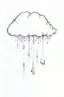 Raining cloud