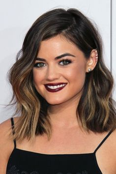 The Modern Farrah Fawcett Smile in 2015 as Lucy Hale!