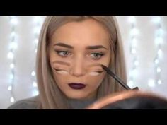 Trippy Double Vision Halloween Makeup Tutorial #halloween2016 #halloween #makeup #MakeupTutorial #halloweenmakeup #MakeUp4Makeup #makeuptricks