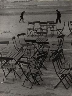Angelo (Funk Pál): Székek a tengerparton / Csendélet az Északi-tengerparton, 1930 / MFM