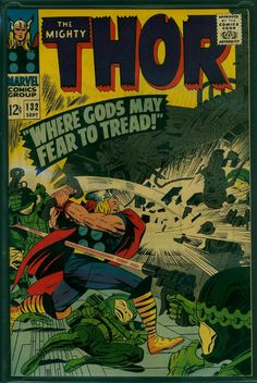 Thor Kirby/Vince Colletta c/a Asgard Marvel, Marvel Vs, Marvel Comics, Marvel Comic Character, Marvel Comic Books, Ego The Living Planet, Frank Miller Comics, The Mighty Thor, Jack Kirby