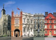 Hampton Court Palace - actors play part in tours, where Henry VIII lived