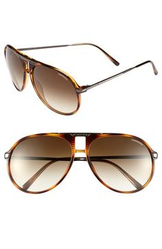 Carrera Eyewear 60mm Aviator Sunglasses available at #Nordstrom