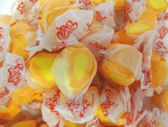 Hawaiian Value Pack Big Wave Maui Salt Water Taffy Mango 3 Pound by Buns of Maui. $41.49. Sealed in bags to retain freshness!. Hawaiian Food products will add a special touch to your next party!!. Value Pack 3 pounds net weight. Big savings over the single pound purchase. Approximately 180 pieces of taffy. This delicious salt water taffy is smooth and creamy and not hard and sticky like most salt water taffy. Ingredients: corn syrup, sugar, palm oil, egg whites, evapo...